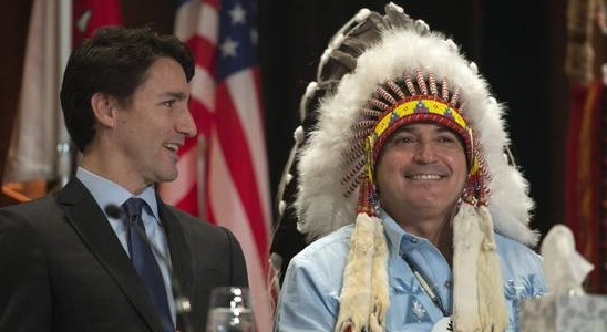 aboriginal promises by trudeau