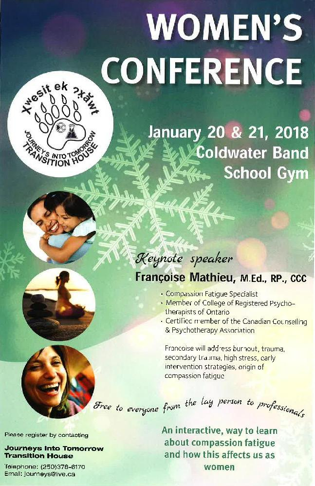 Coldwaterband Women's Conference 2018